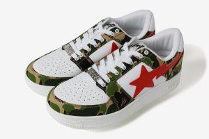 Bape: Le nuove sneaker BAPE STA nella variante camouflage