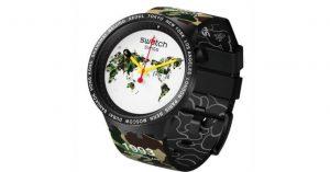 Bape x Swatch: insieme per una capsule collection di orologi (foto)