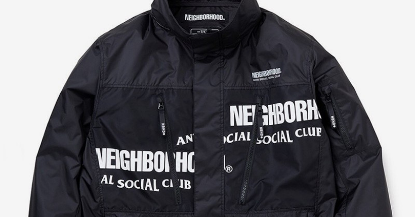 NEIGHBORHOOD x Anti Social Social Club: una capsule collection da urlo
