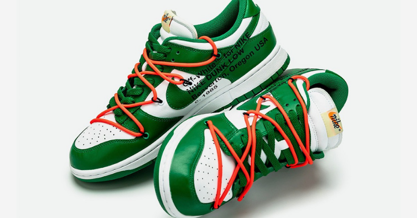 Off White x Nike Dunk Low: pronto il countdown per le nuove sneakers