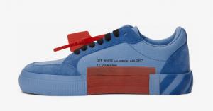 Off White: Le sneakers Low Vulcanized sono già disponibili in colori vivacissimi