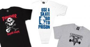 Felpe Thrasher: quando la Bibbia dello skateboarding diventa un colosso dello streetwear