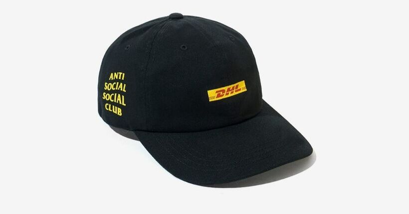 Anti Social Social Club x DHL: Capsule collection a prova di consegna (foto)