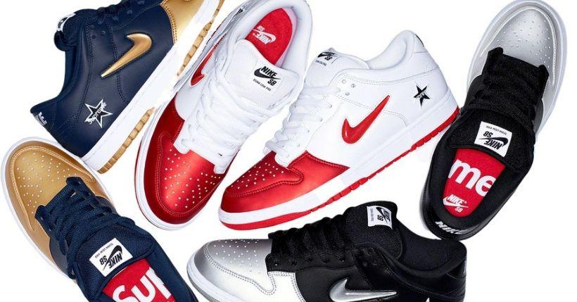 Supreme: Droplist 5 settembre 2019, ecco le Nike SB Dunk Low