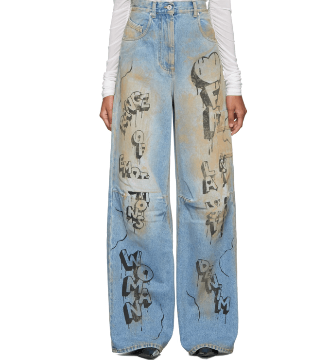 jeans off white