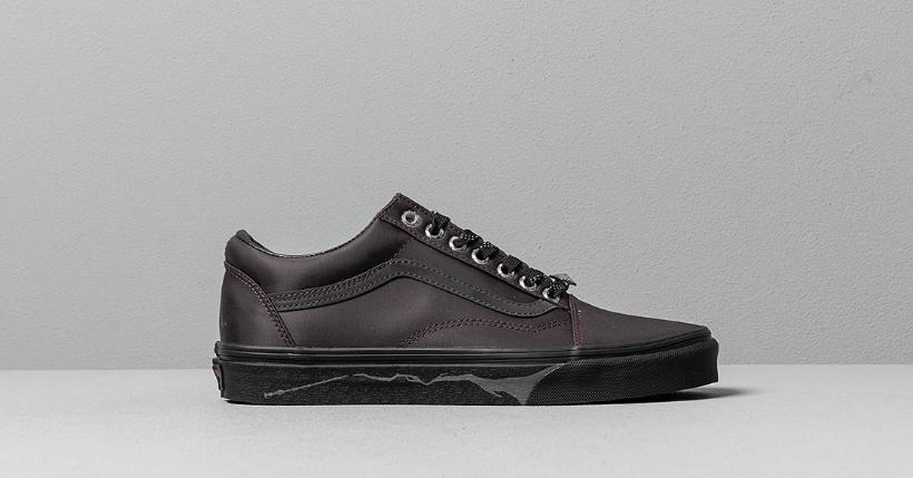 scarpe vans cotone nero