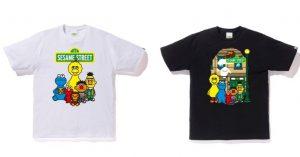 Bape x Sesame Street, capsule collection in uscita il 14 settembre che farà impazzire grandi e piccini