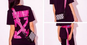 Off White x Flannels, la capsule collection Shocking Pink che festeggia lo store londinese di Flannels