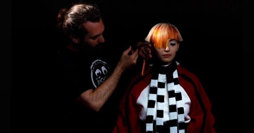 Swoosh Hairdressing al The Alternative Hair Show 2019