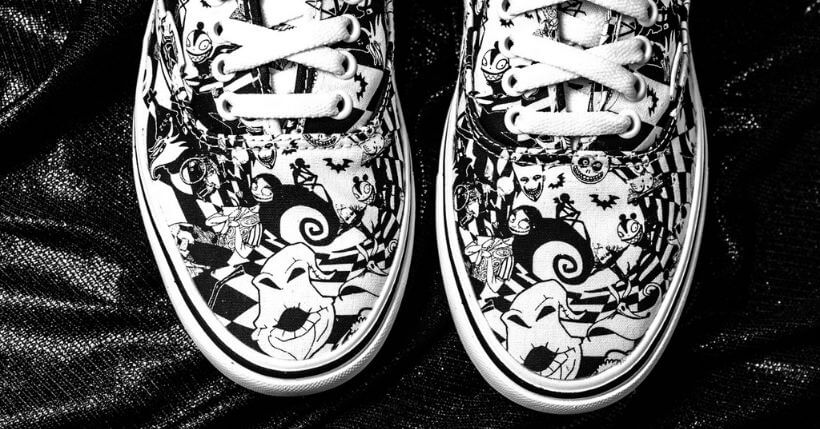 The Nightmare Before Christmas x Vans Collaboration