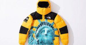Supreme x The North Face: La Statua della Libertà è la faccia della nuova capsule collection