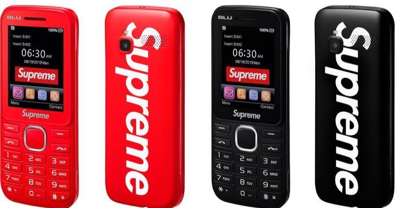 Supreme: Droplist 17 ottobre 2019, il BLU Burner phone è assolutamente da comprare