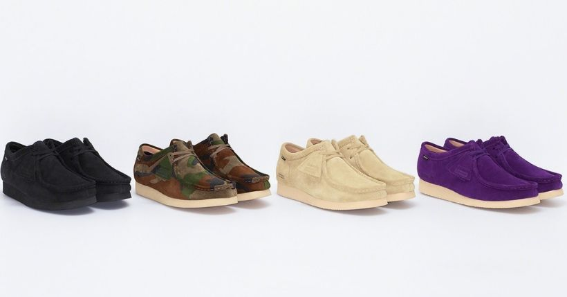 Supreme: Droplist 24 ottobre 2019, le Wallabee by Clarks tornano per la Fall 2019