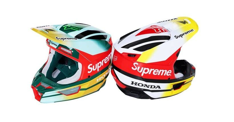Supreme: Droplist 3 ottobre 2019, feat. Fox Racing e Honda