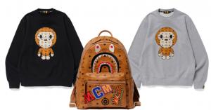Bape x MCM, lusso e streetwear si fondono in una collezione colorata e divertente