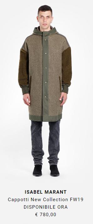 cappotto lungo alta moda isabel marant