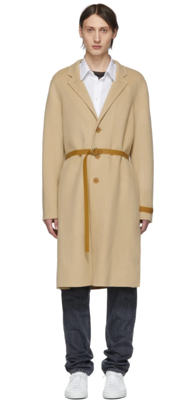 Cappotto-cammello-uomo-helmut-lang