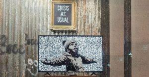 Gross Domestic Product, il provocatorio negozio di Banksy a tutela dell'arte libera
