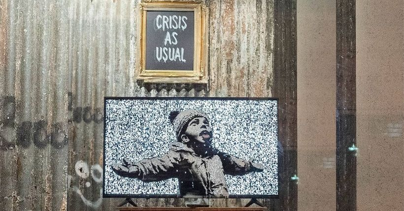 Gross Domestic Product, il provocatorio negozio di Banksy a tutela dell'arte libera