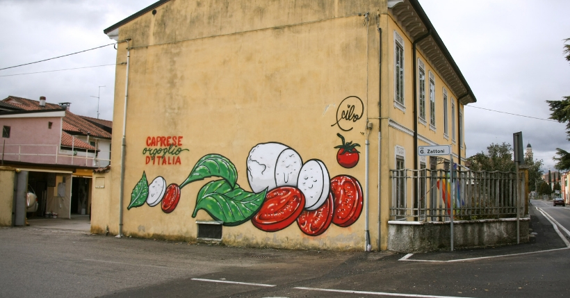 CIBO: Intervista allo street artist italiano che copre le svastiche con le angurie!