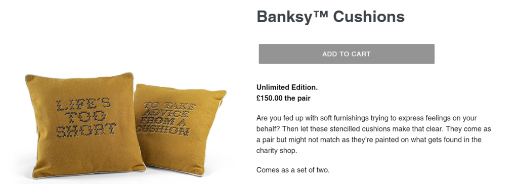 Gross Domestic Product cushions