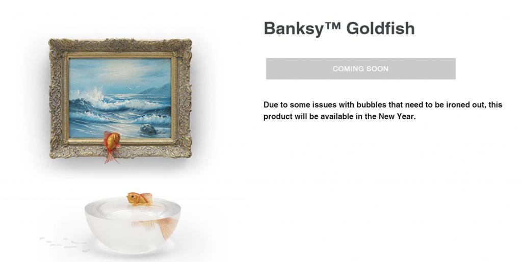 Gross Domestic Product goldfish