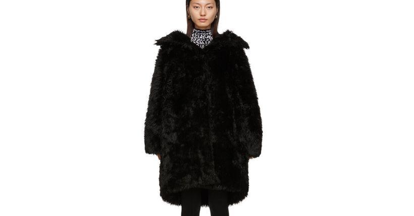 Pellicciotto nero: Il nuovo trend dell'inverno 2019