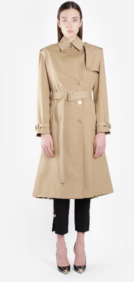 Cappotto-cammello-donna-Versace-