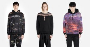 Felpe Marcelo Burlon, etnico e streetwear insieme per uno stile unico
