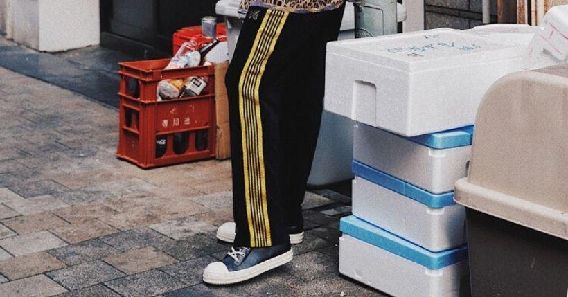 Track Pants Needles: Perché sono l'ultimo trend dello streetwear
