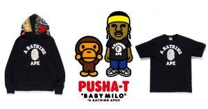 Bape x Pusha-T, il 18 gennaio arriva una collezione davvero da non perdere!