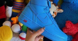 Don C x Nike Air Force 1: First look e data d'uscita delle sneakers total blue
