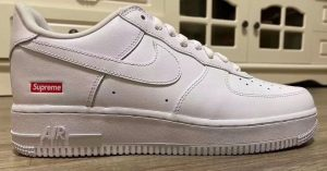 Supreme x Nike: in arrivo le nuove Air Force 1 Low