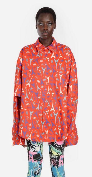 Camicia Balenciaga