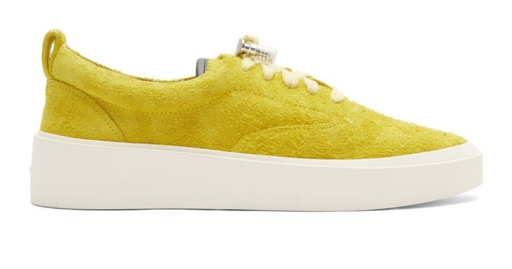 Fear of God Yellow sneakers
