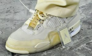 Off-White x Air Jordan 4: ufficializzata la nuova silouhette