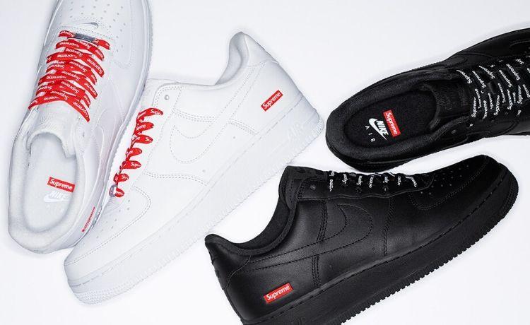 Supreme x Nike: le attesissime Air Force 1 saranno disponibili dal 5 marzo