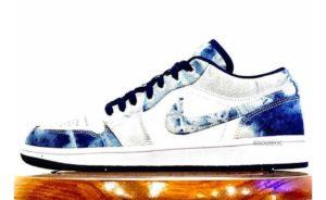 """Air Jordan 1 Low """"Bleached Denim"""": la sneaker del Jumpman tinta di jeans"""