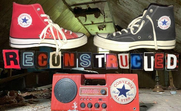 Converse Reconstructed Chuck 70: nuova collaborazione con Slam Jam