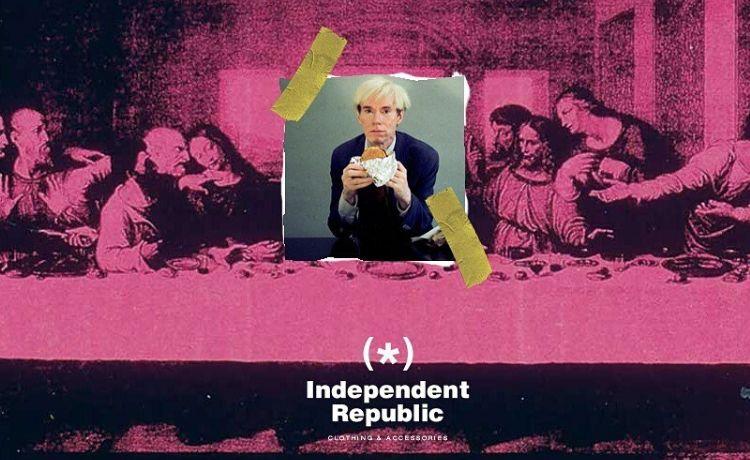 Independent Republic: i mashup arte-cinema tra streetwear e pop art