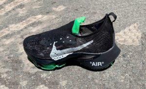 Off-White x Nike Air Zoom Tempo NEXT%, ecco le prime immagini della nuova collaborazione [UPDATE]