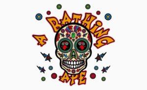 Bape Sugar Skull, ecco la t-shirt in onore del dìa de los muertos |24 ottobre