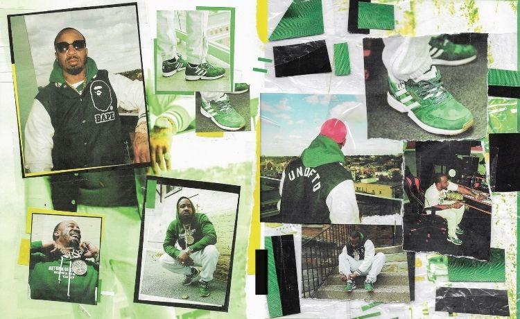 Bape x Undefeated x Adidas