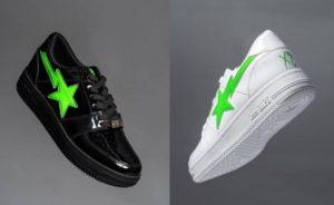 Bape x XO Bape Sta Low, la capsule collection con The Weeknd si tinge di verde | 28 novembre