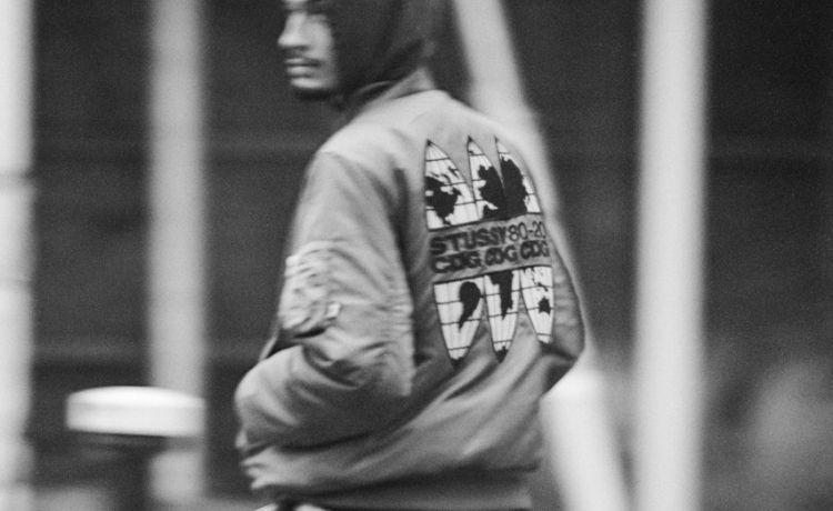 Stussy x CDG: capsule omaggio al 40° anniversario del re dello streetwear