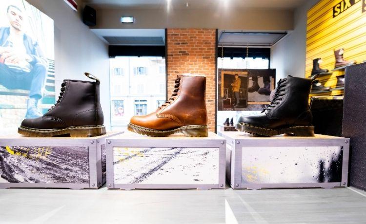 Dr. Martens sbarca a Roma con il suo primo flagship store italiano