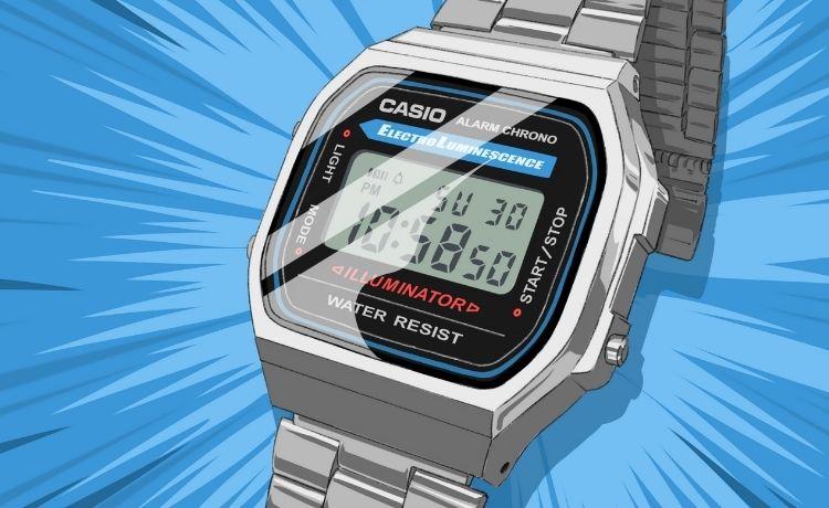 """""""An icon of our time"""": Casio celebra l'A168, il suo modello più iconico!"""
