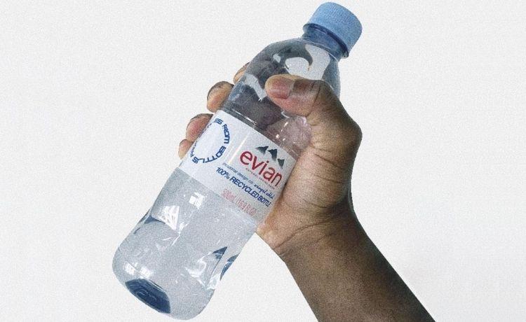 Acqua Evian x Virgil Abloh