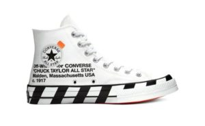 Off-White x Converse, le Chuck 70 tornano il 30 marzo!