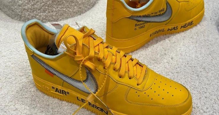 Sneakers personalizzate per LeBron James